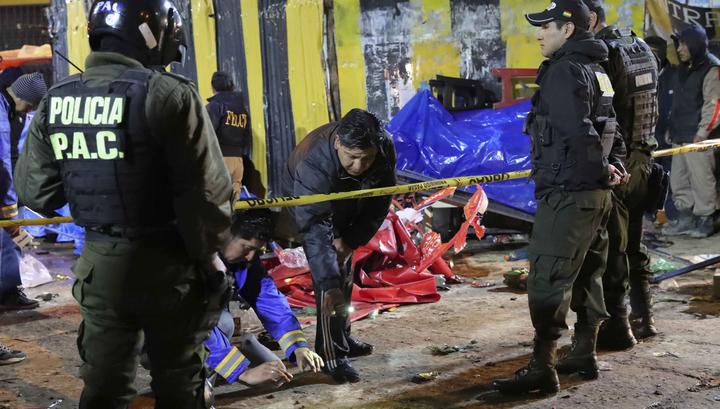 В Мексике разбился вертолет с главой МВД и губернатором