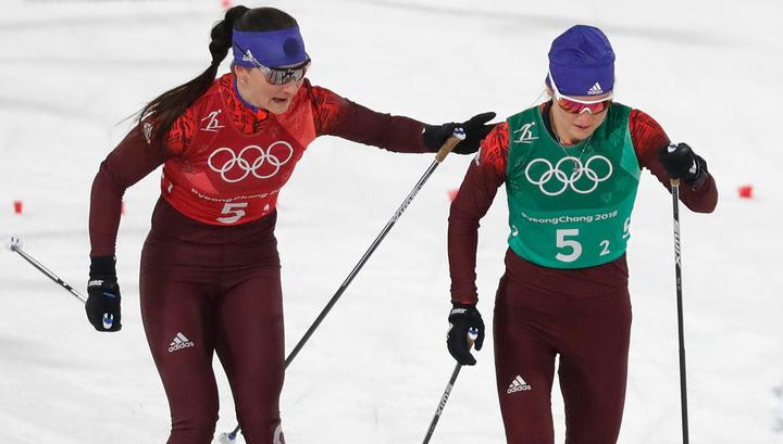 Лыжницы из России выиграли бронзу в олимпийской эстафете