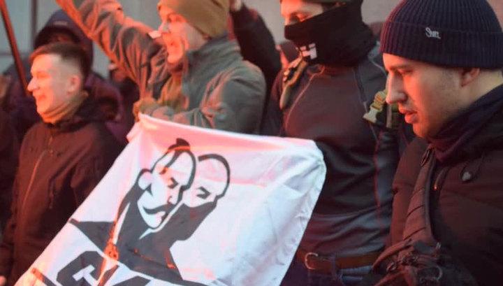Москва призывает привлечь зачинщиков погрома Россотрудничества в Киеве к ответственности