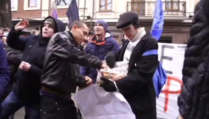 Лукашевич: националисты не смогли поджечь Россотрудничество благодаря миссии ОБСЕ