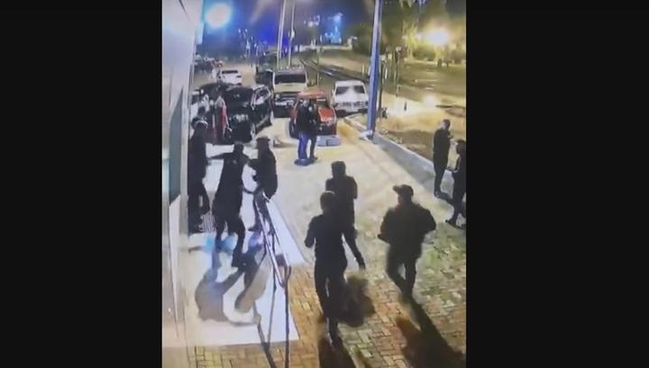 Убийство в ночном клубе в Туапсе попало на видео