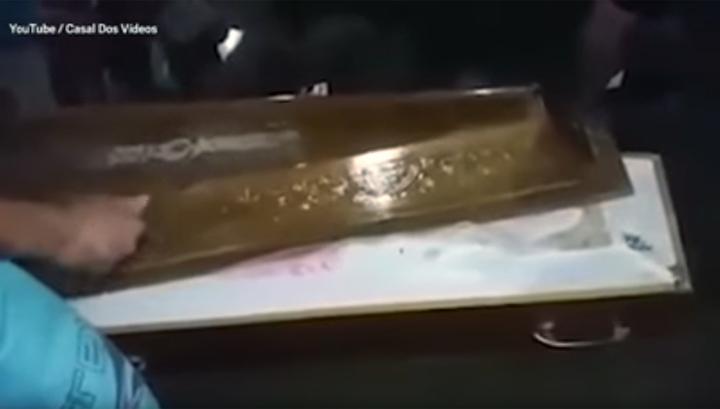 В Бразилии женщину похоронили заживо