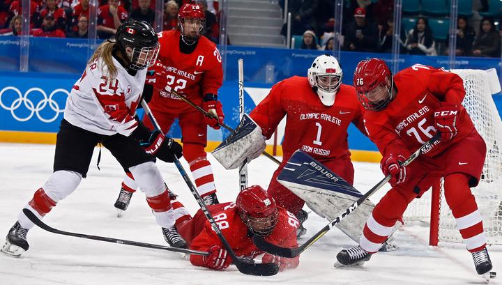 Хоккеистки из России будут бороться за бронзу Игр-2018