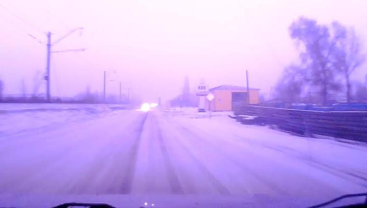 Жители Новочеркасска сняли на видео редкое погодное явление