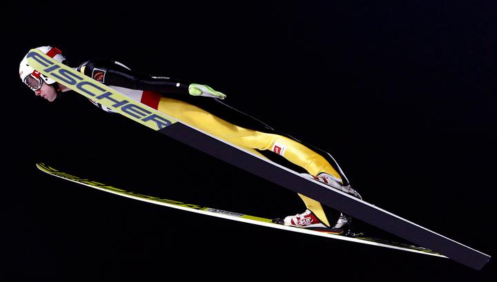 Евгений Климов победил на этапе Кубка мира по прыжкам с трамплина