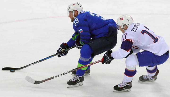 Хоккеисты России в четвертьфинале сыграют с Норвегией