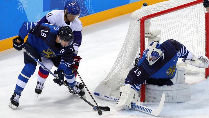 Хоккеисты Финляндии и Швейцарии вышли в четвертьфинал
