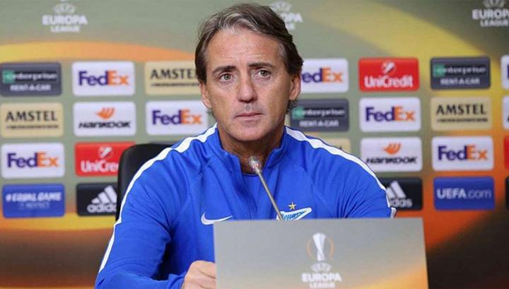 Манчини: в Лиге Европы все команды хотят выиграть, а в РФПЛ – не проиграть