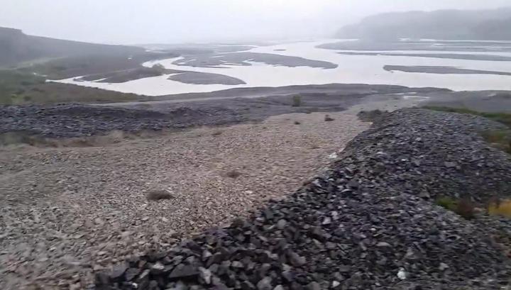 Циклон превратил новозеландское ущелье в реку камней