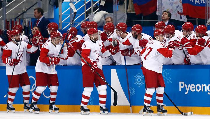 Хоккеисты России победили чехов и вышли в финал Олимпиады