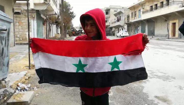 Мирные сирийцы продолжают возвращаться в свои дома