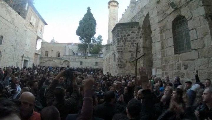 Храм Гроба Господня в Иерусалиме снова открыт