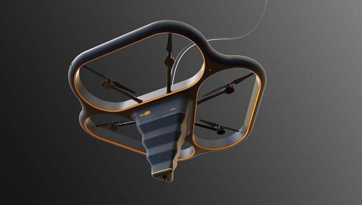 Прототип летающего строительного принтера Fly Elephant.