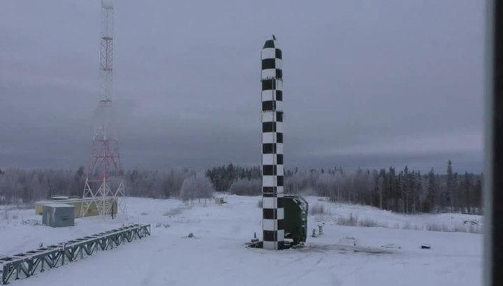 """На космодроме Плесецк прошли испытания новой баллистической ракеты """"Сармат"""""""