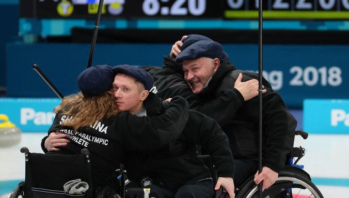 Российские керлингисты на смогли выйти в плей-офф Паралимпиаде