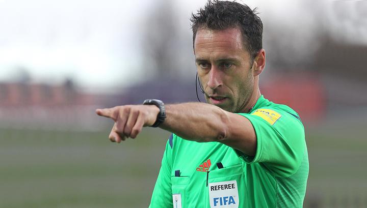 УЕФА назначил арбитров на матчи российских клубов в Лиге Европы
