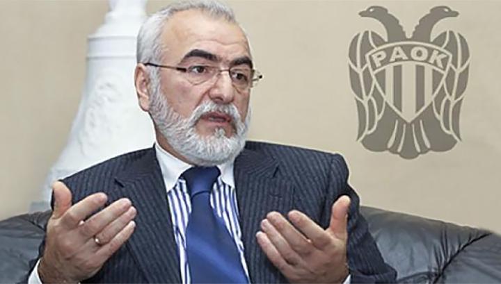 Владелец ПАОКа Саввиди: я никому не угрожал