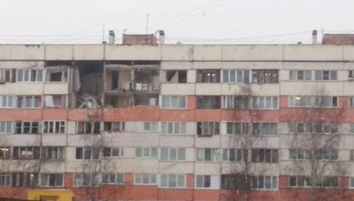 В питерской многоэтажке обрушились перекрытия