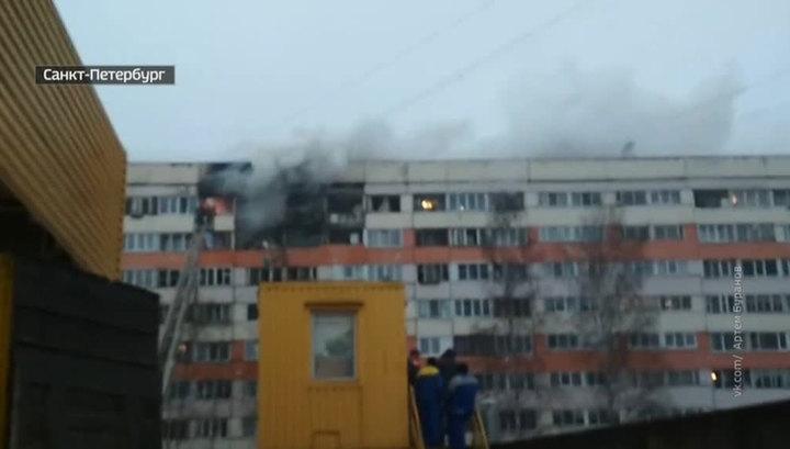 Взрыв газа в Петербурге: эвакуированные жильцы будут ночевать в соседней школе