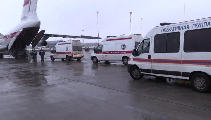 Самолет МЧС доставил в Петербург и Москву больных детей из Ростова