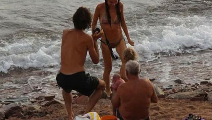 Обнажённые россиянки на пляжах страны