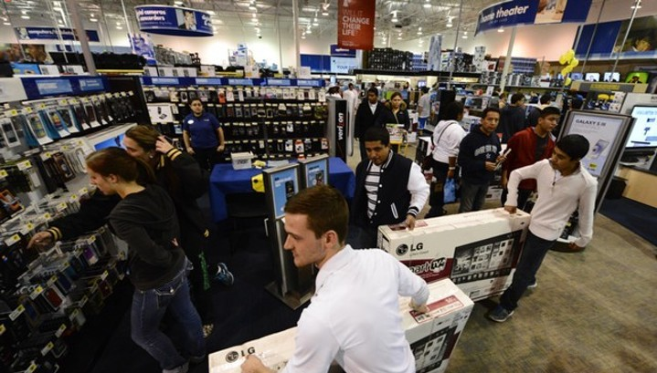 Розничные продажи в США неожиданно снизились