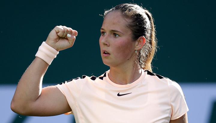 Дарья Касаткина вышла в полуфинал турнира в Индиан-Уэллсе