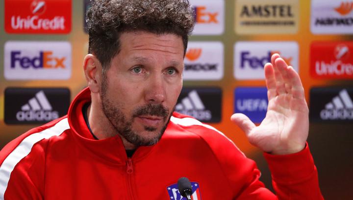 """Тренер """"Атлетико"""" Симеоне: на пять сыграли и футболисты, и врачи"""