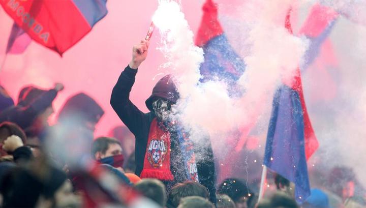 Лига Европы: произошли столкновения фанатов ЦСКА и