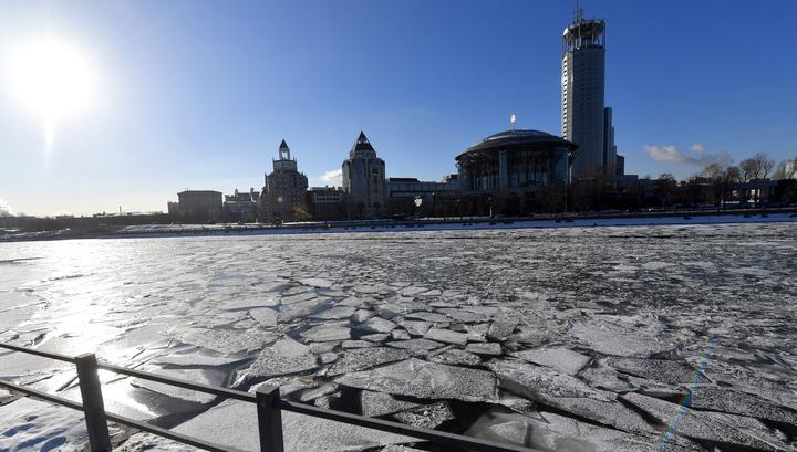 На набережной в центре Москвы провалился грунт