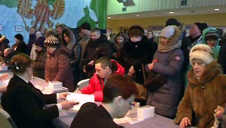 Выборы президента РФ: явку в 100 процентов первым показало чукотское село