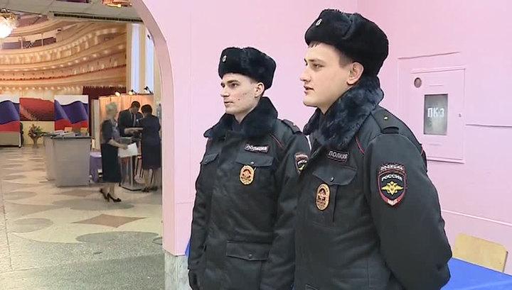 О безопасности на выборах президента России заботятся более 500 тысяч человек