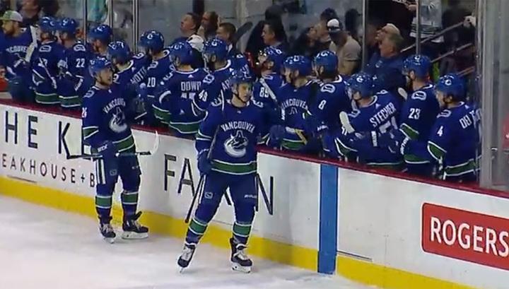 Чемпионат НХЛ. Шайба Голдобина не спасла