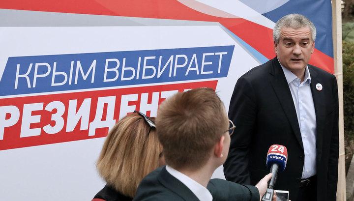В Крыму нежелающих признавать выборы сравнили с Бабой-ягой
