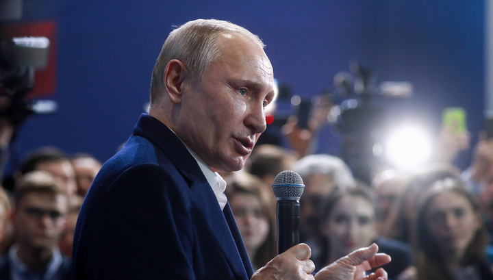 Владимир Путин о своем президентстве в 2030 году: это смешно