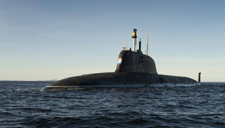 """Новейшая подлодка """"Новосибирск"""" спущена на воду"""