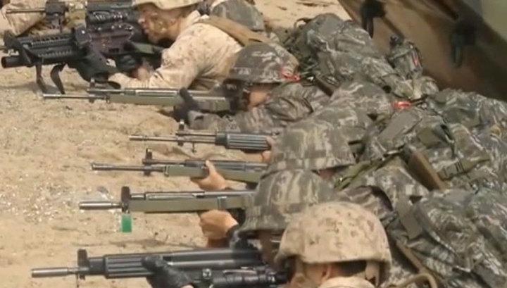 Южная Корея и США опять начинают военные маневры