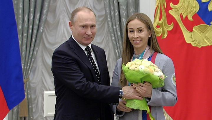 Путин наградил медалистов Паралимпиады-2018 госнаградами