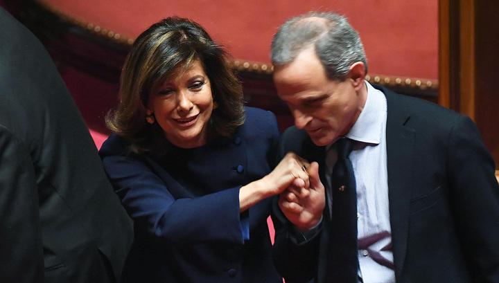 Женщина впервые возглавила итальянский Сенат