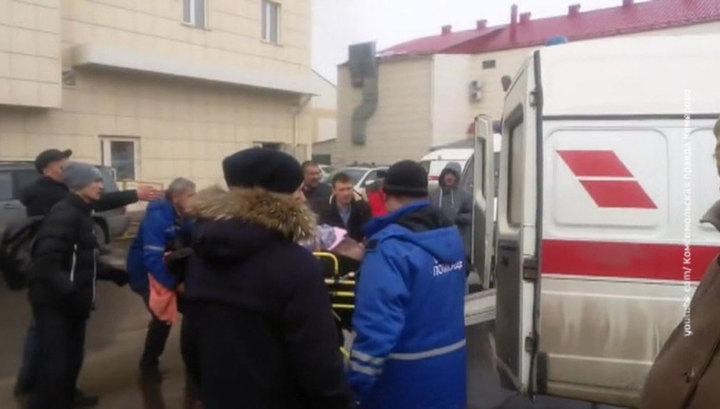 Число госпитализированных после пожара в ТРЦ в Кемерове увеличилось до 15 человек