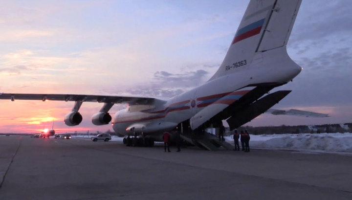 Россия направила в США медоборудование для борьбы с вирусом