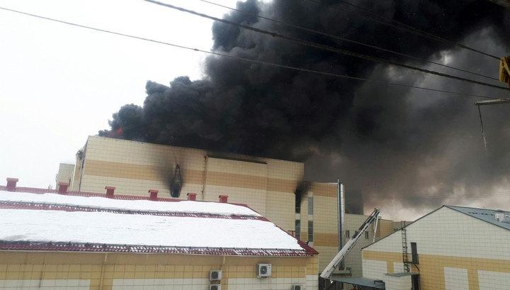 """56 погибших: во время пожара в """"Зимней вишне"""" обрушились потолки и взорвался газовый баллон"""