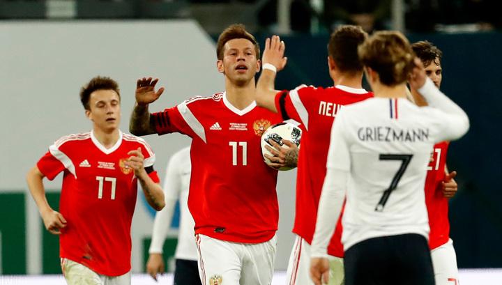 Россия приблизилась к Франции в рейтинге УЕФА