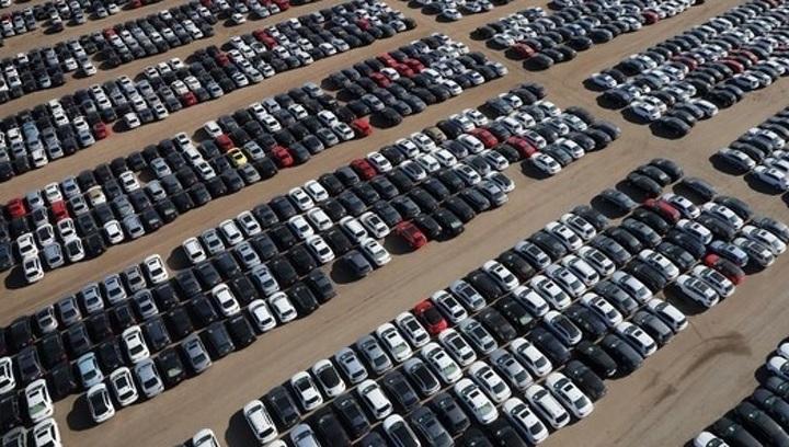 """Обнаружено """"кладбище"""" дизельных  автомобилей Volkswagen (масштабы поражают)"""