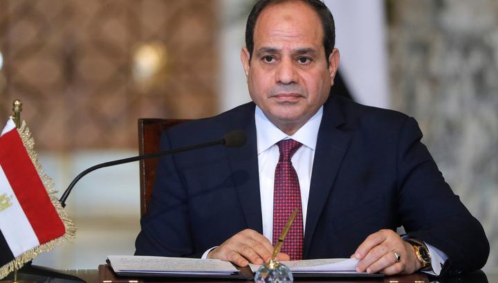 Ас-Сиси принес присягу перед парламентом Египта