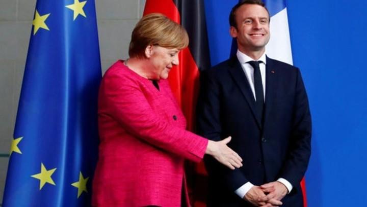 Меркель и Макрон - от их взаимопонимания зависит ЕС
