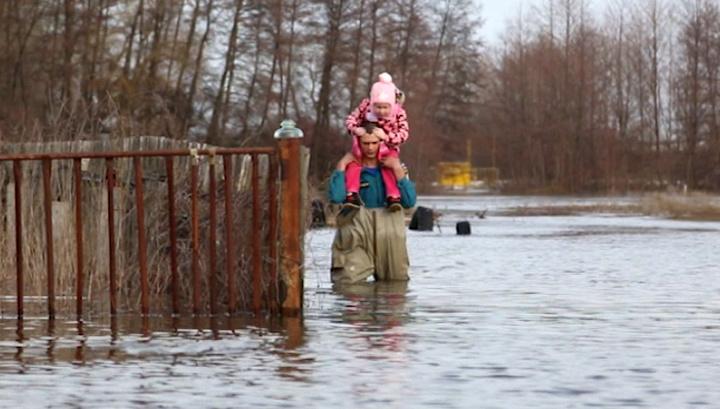 Волгоградская область уходит под воду