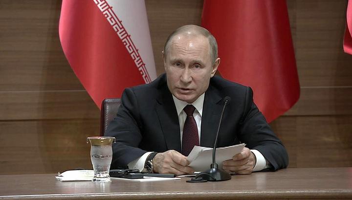 Путин: в Сирии готовится провокация с использованием отравляющих веществ