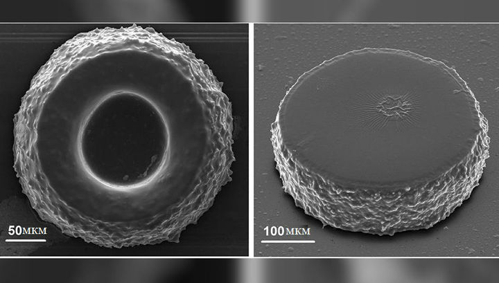 Благодаря специально разработанной структуре наночастицы преобразуют инфракрасное излучение в ультрафиолет.