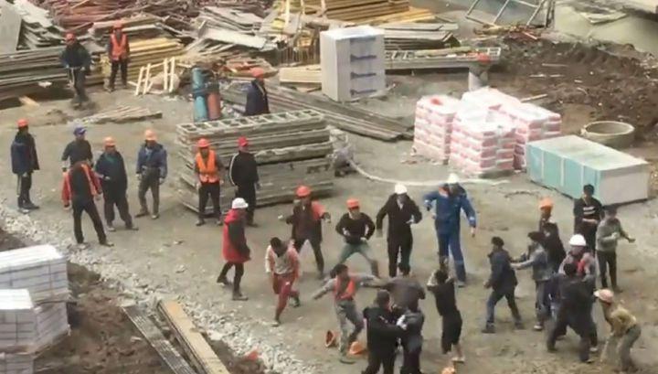 Таджикистан vs. КНДР: мигранты устроили массовую драку в Краснодаре